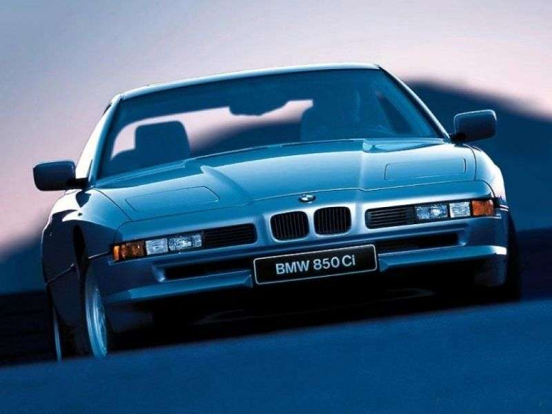 BMW 8 Series E31 Coupe 850i MT (1989–1992)