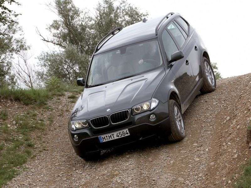 BMW X3 E83 [restyled] crossover 3.0si MT (2007–2009)