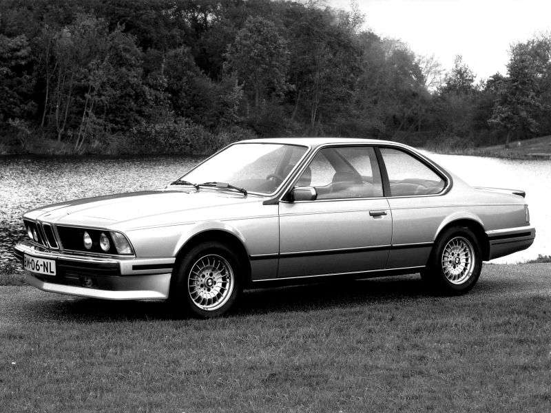 BMW 6 Series E24 [2nd restyling] coupe 635CSi kat MT (1987–1989)