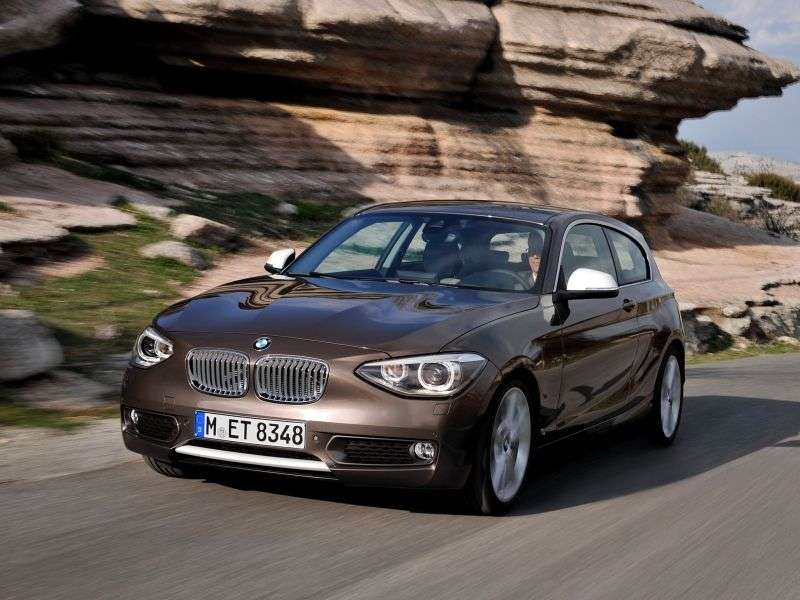 BMW 1 Series F20 / F21htchbek 3 dv. 125d AT (2012 – n. In.)