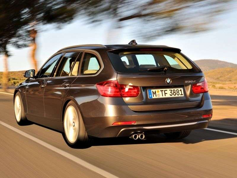 BMW 3 Series F30 / F31Touring wagon 335i MT (2013 – n.)