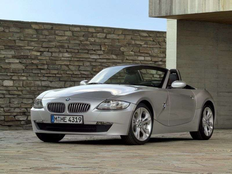 BMW Z4 E85 / E86 [restyling] Roadster 3.0si AT (2005–2008)