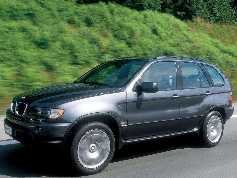 BMW X5 E53 Crossover 4.4i AT (1999–2003)