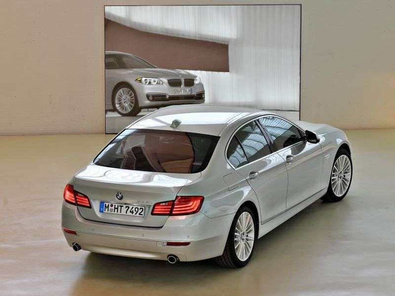 BMW 5 Series F10 / F11 [restyling] 525d AT Sedan (2013 – n.)