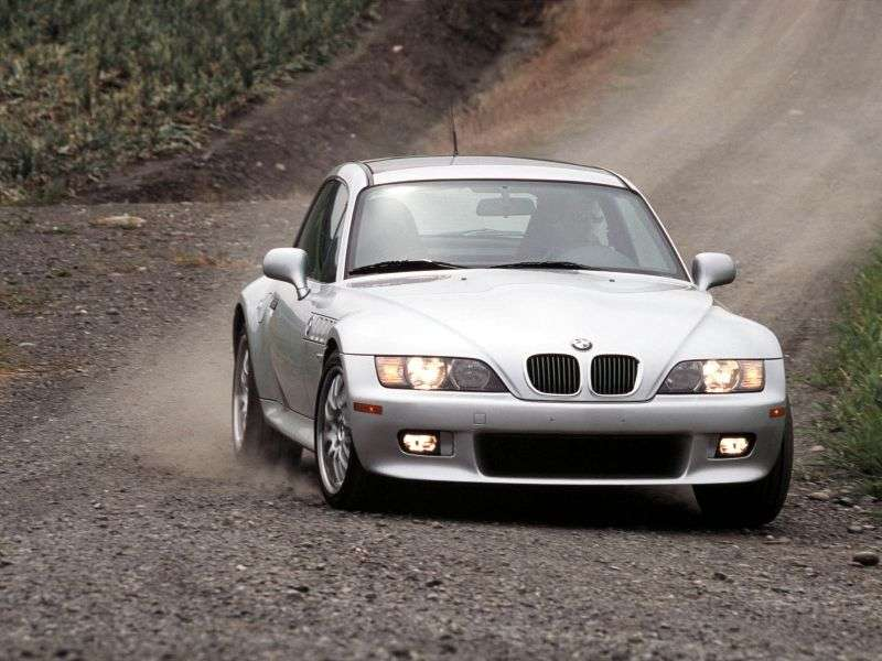 BMW Z3 E36 / 7 E36 / 8 [restyling] coupe 2.8 AT (1998–2000)
