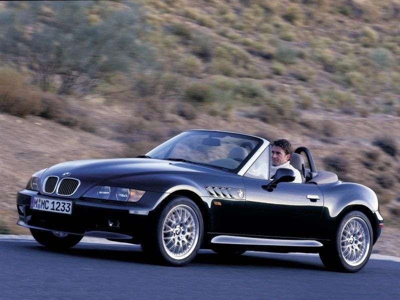 BMW Z3 E36 / 7 E36 / 8 [restyling] Roadster 2.0 MT (1999–2000)