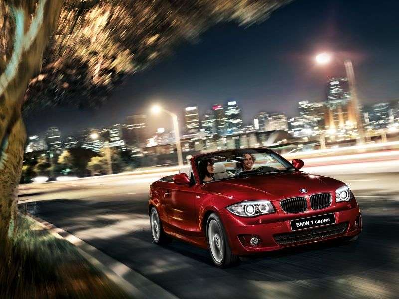 BMW 1 Series E82 / E88 [2nd Restyling] 120i AT Convertible (2011 – n.)
