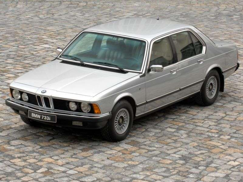 BMW 7 Series E23sedan 735i AT (1980–1982)
