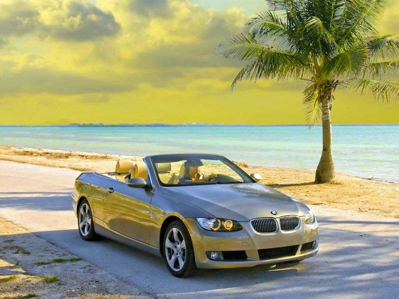 BMW 3 Series E90 / E91 / E92 / E93 Cabrio 330d MT (2007–2008)