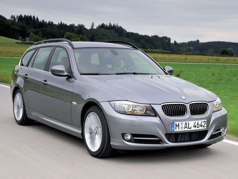 BMW 3 Series E90 / E91 / E92 / E93 [Restyling] Touring 330d AT Touring (2008–2012)