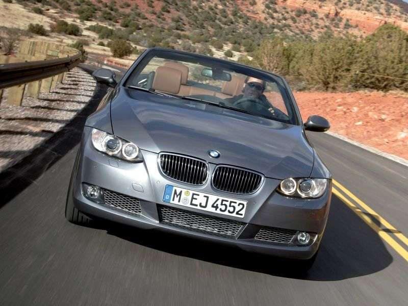 BMW 3 Series E90 / E91 / E92 / E93 320d MT Convertible (2008–2010)
