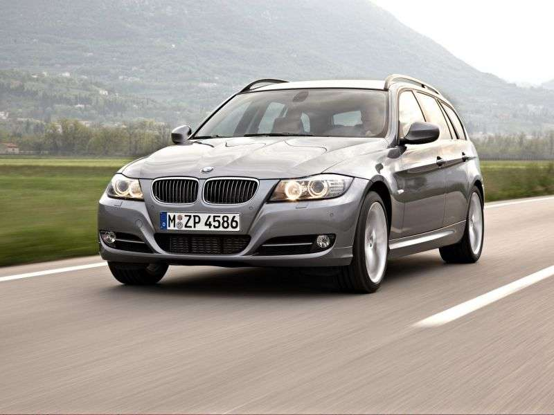 BMW 3 Series E90 / E91 / E92 / E93 [Restyling] Touring 318i MT Touring (2008–2009)