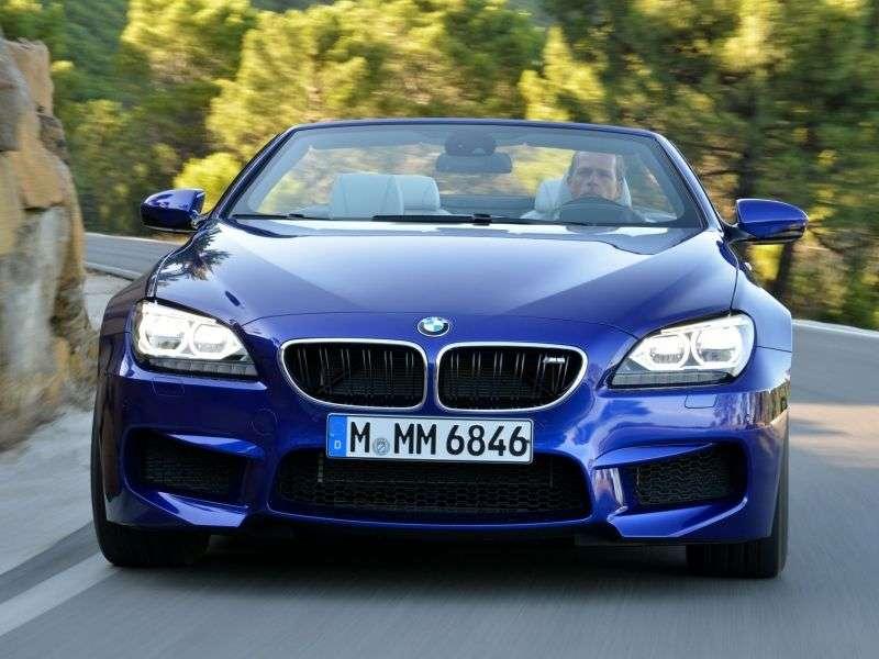BMW serii M F06 / F12 / F13 6 serii Cabriolet 4.4 M DCT Base (2012 obecnie)