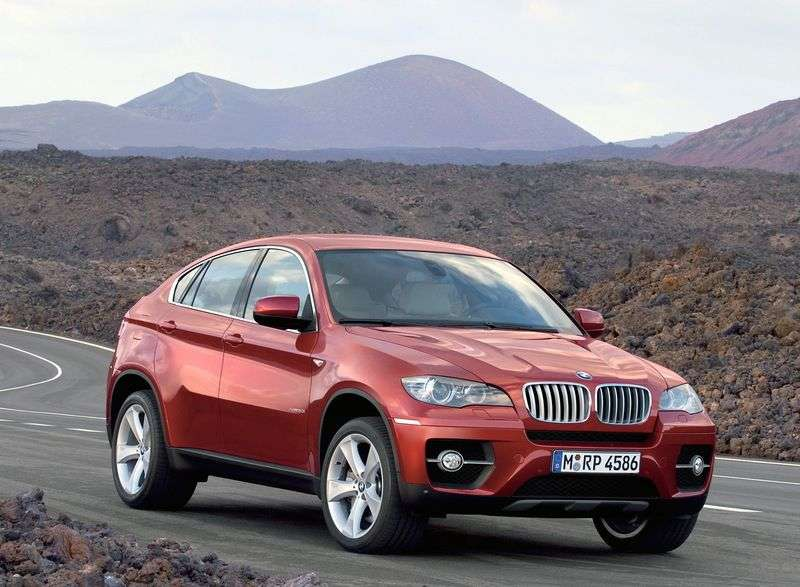 BMW X6 E71 / E72Sports Activity Coupe Crossover xDrive50i 8AT Local Assembly (2010–2012)
