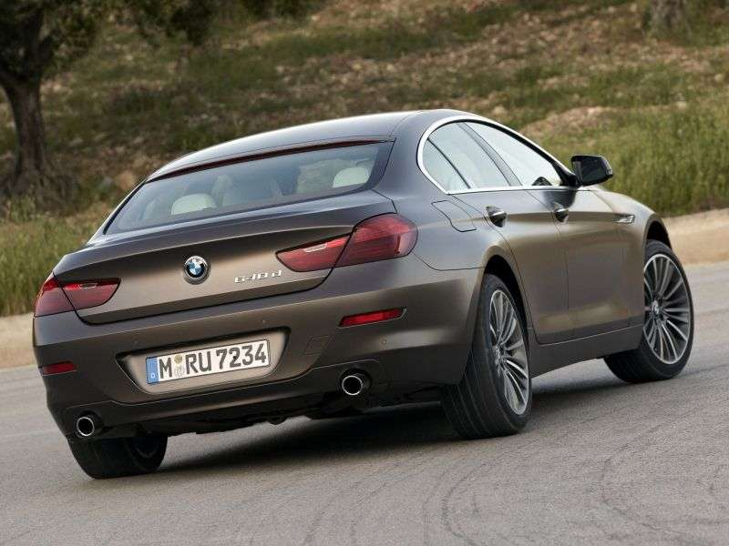 BMW 6 Series F06 / F12 / F13Gran Coupe Coupe 4 doors 640i xDrive AT Basic (2013 – current century)