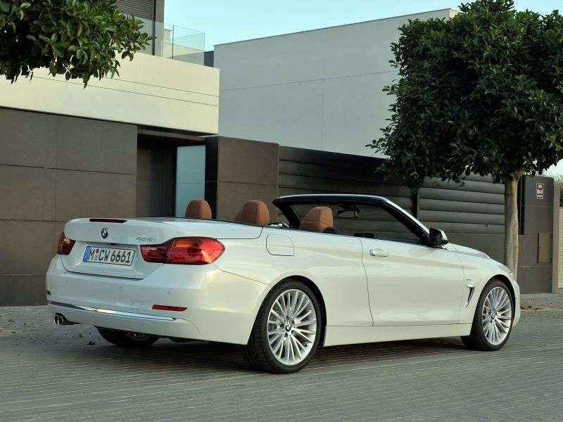 BMW 4 Series F32 Cabriolet 420d AT (2013 – v.)
