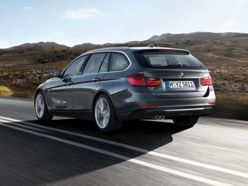 BMW 3 Series F30 / F31Touring wagon 335i xDrive AT (2013 – v.)