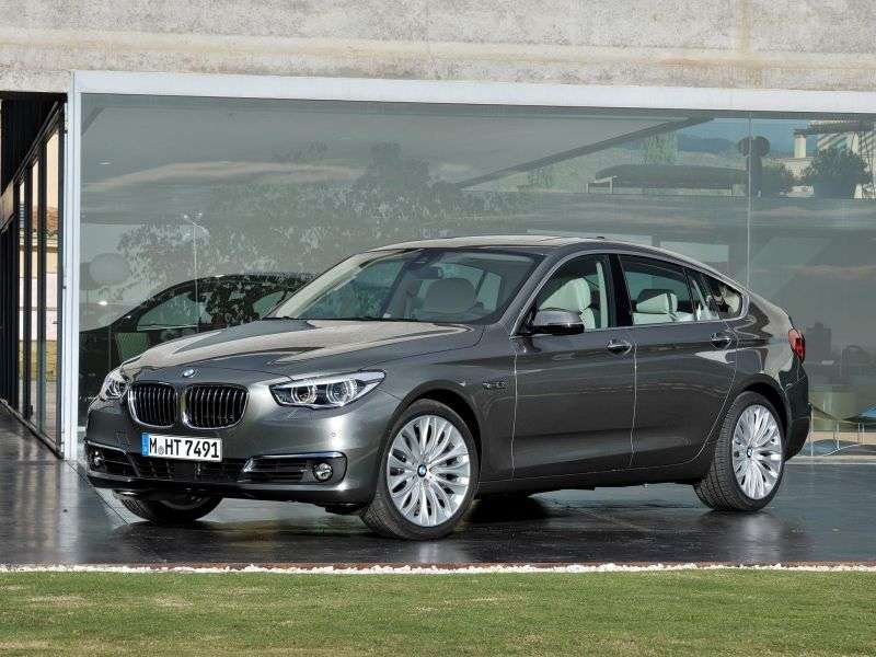 BMW 5 Series Gran Turismo F07 [restyling] hatchback 535i xDrive AT Basic (2013 – to. In.)
