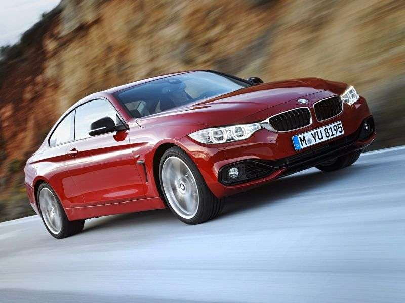 BMW 4 Series F32 Coupe 420i MT (2013 – present)