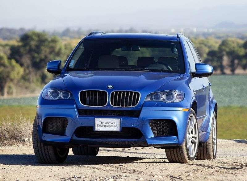 BMW M Series E70 X5 Crossover 4.4 AT Basic (2011) (2009 – present)