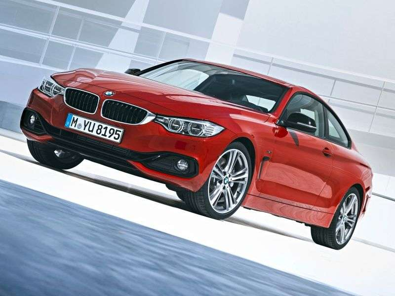 BMW 4 Series F32 Coupe 420d AT Basic (2013 – n.)