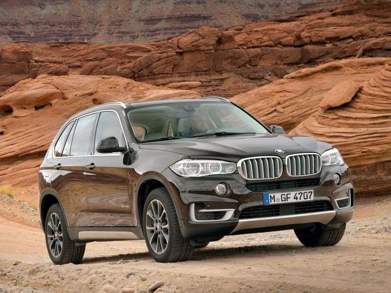 BMW X5 F15crosser xDriveM50d AT (2013 – now.)
