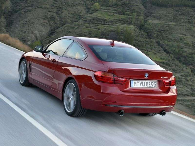 BMW 4 Series F32 Coupe 430d AT (2013 – present)