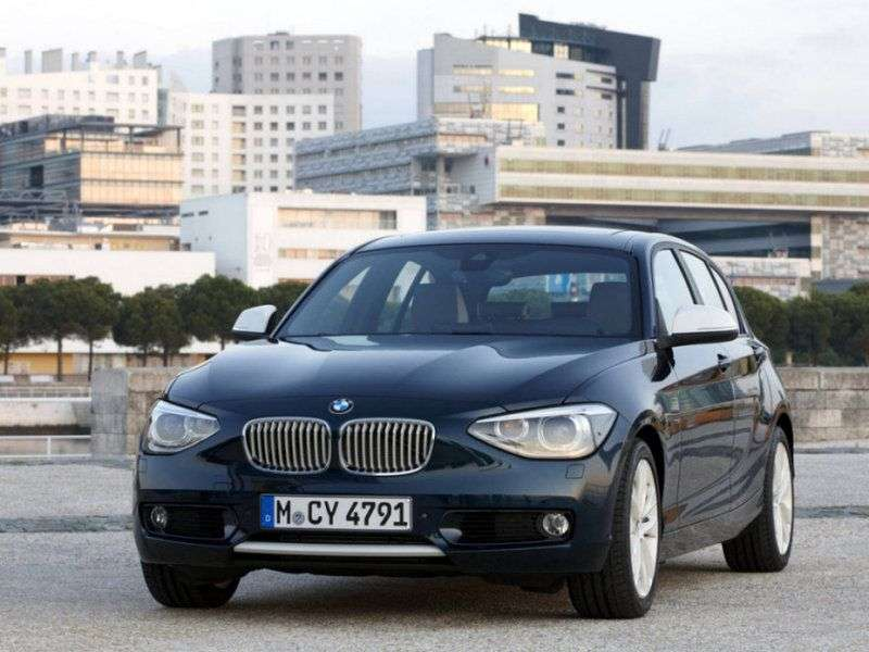 BMW 1 series F20 / F21htchbek 5 dv. 125i AT (2012 – n. In.)