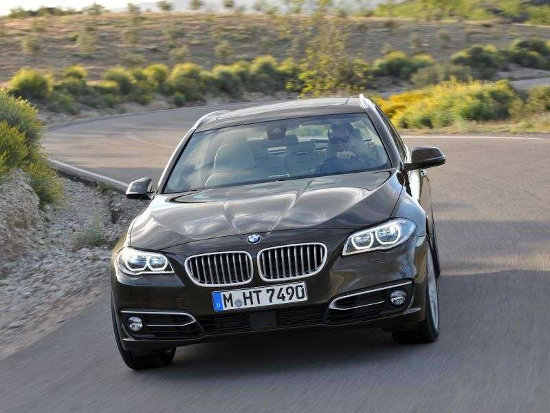 BMW 5 Series F10 / F11 [Restyling] Touring 518d MT Touring (2013 – v.)