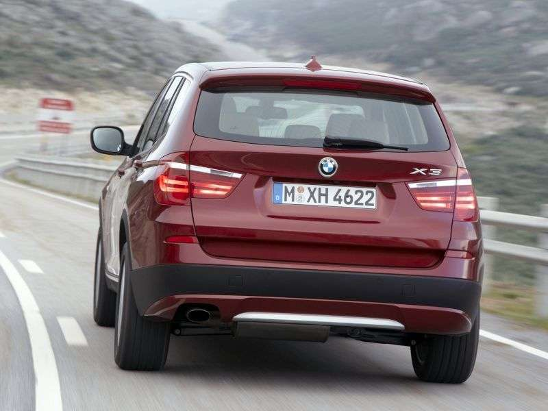 BMW X3 F25crosser xDrive20d AT Basic (2010 – present)