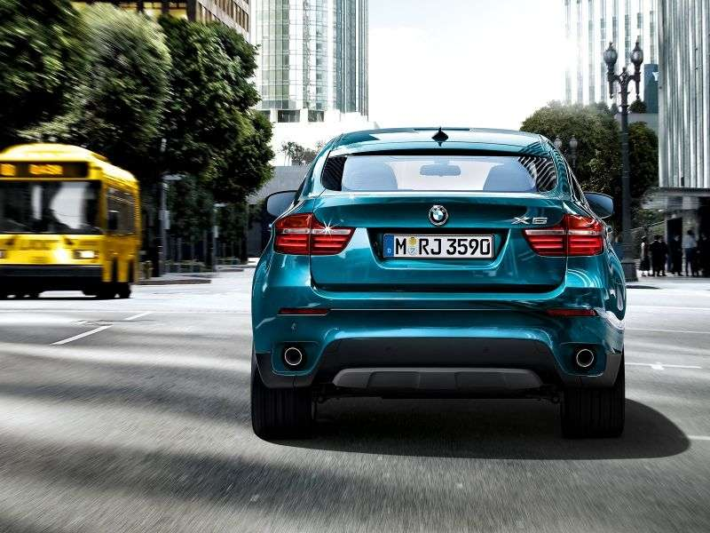 BMW X6 E71 [restyled] Sports Activity Coupe Crossover 50i xDrive AT Basic (2012 – n.)