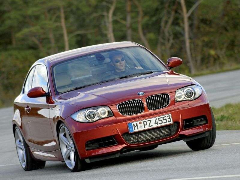 BMW 1 Series E81 / E82 / E87 / E88 [Restyling] Coupe 120d MT (2007–2008)
