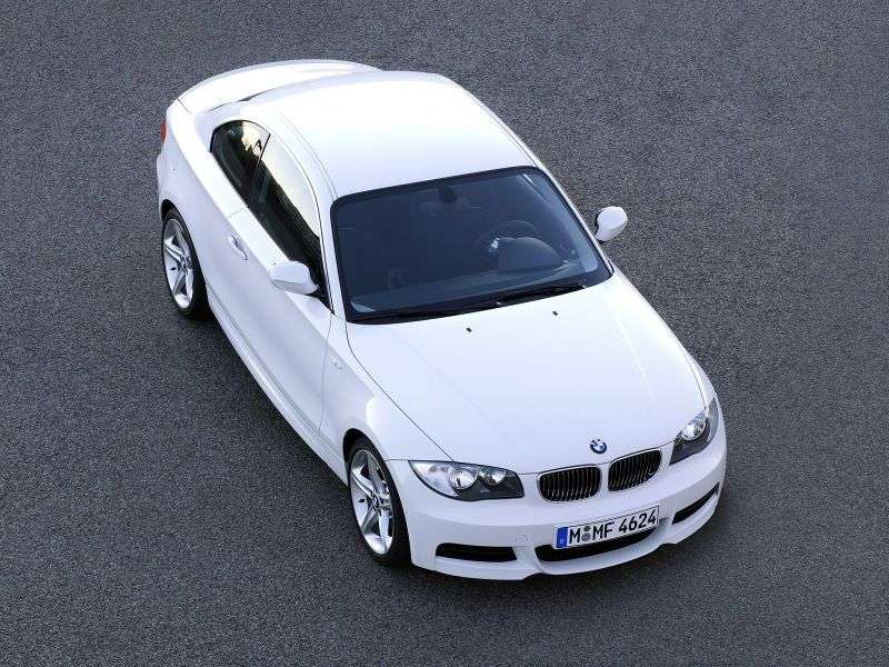 BMW 1 Series E81 / E82 / E87 / E88 [Restyling] Coupe 118d MT (2009–2010)