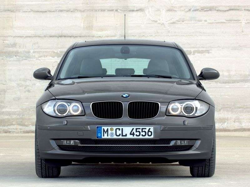 BMW 1 Series E81 / E82 / E87 / E88 [restyling] 5 door hatchback 130i AT EU (2007–2009)