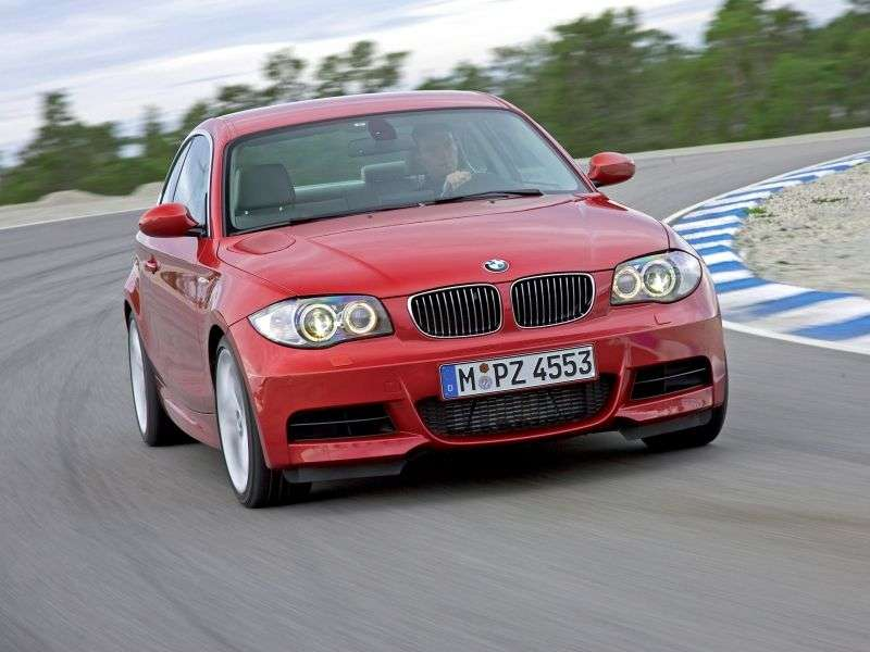 BMW 1 Series E81 / E82 / E87 / E88 [Restyling] Coupe 123d MT (2009–2010)