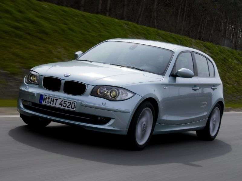 BMW 1 Series E81 / E82 / E87 / E88 [restyling] 5 door hatchback 123d AT (2007–2009)