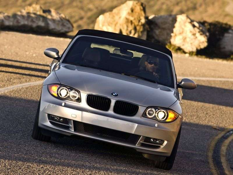 BMW 1 Series E81 / E82 / E87 / E88 [Restyling] 125i AT Convertible (2009–2010)