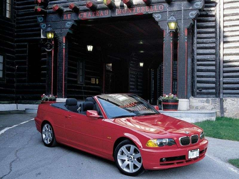 BMW 3 Series E46 Cabrio 330Ci AT (2001–2003)