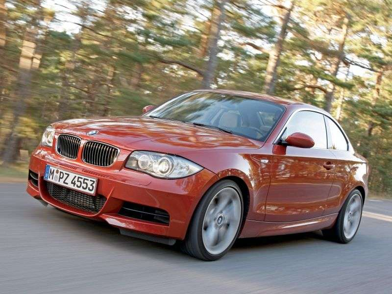 BMW 1 Series E81 / E82 / E87 / E88 [Restyling] Coupe 120d MT (2010–2010)