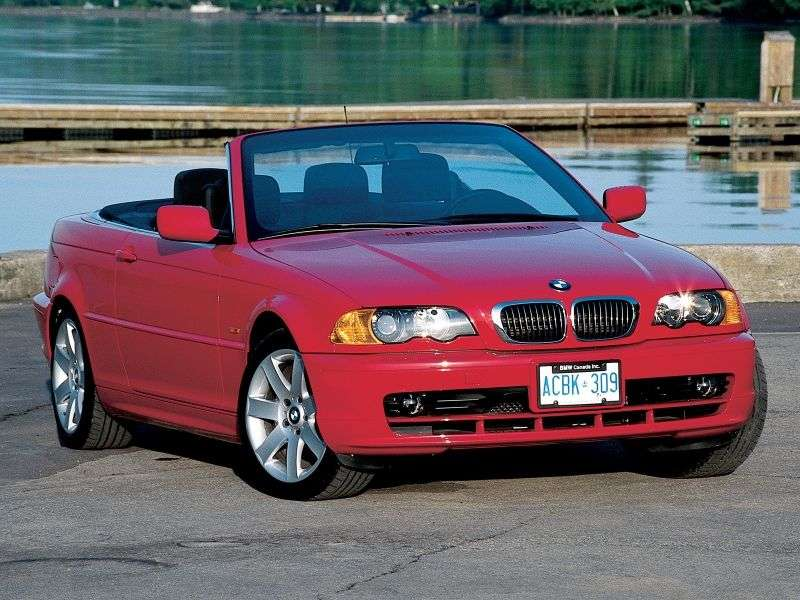 BMW 3 Series E46 Cabrio 320Ci MT (2000–2003)