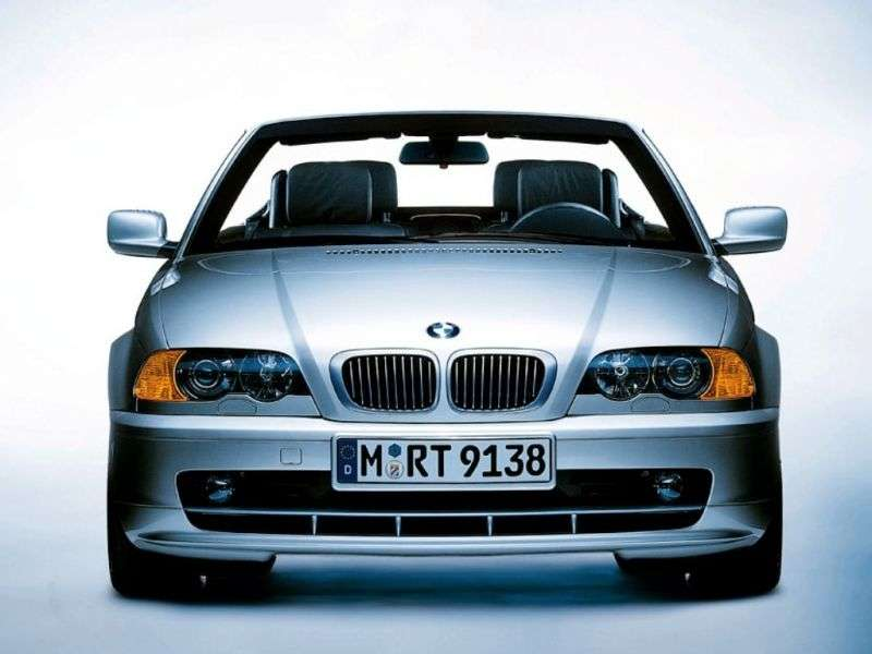 BMW 3 Series E46 Cabriolet 318Ci MT (2001–2003)