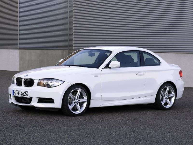 BMW 1 Series E81 / E82 / E87 / E88 [Restyling] Coupe 125i MT (2009–2010)