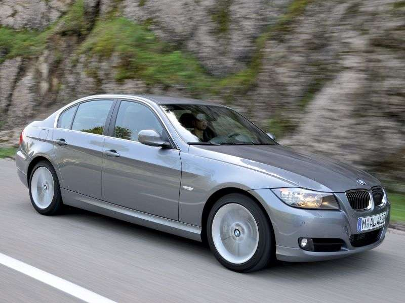 BMW 3 Series E90 / E91 / E92 / E93 [restyling] 328i MT Sedan (2009–2011)