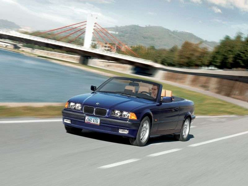 BMW 3 Series E36 Cabrio 320i MT (1993–1995)