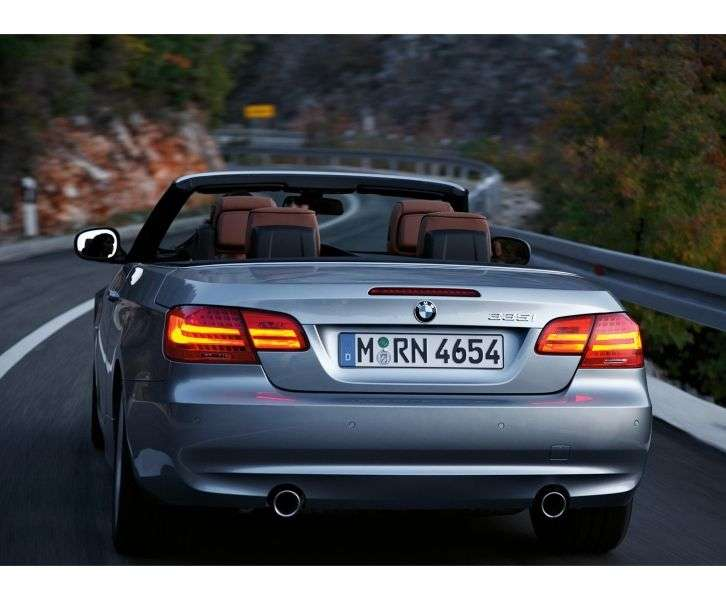 BMW 3 Series E90 / E91 / E92 / E93 [Restyling] 330d MT Convertible (2010 – n.)