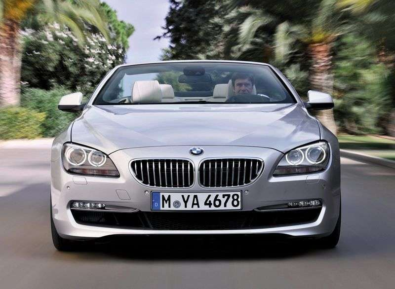 BMW 6 Series F06 / F12 / F13 Cabrio 650i xDrive AT Basic (2010 – current century)