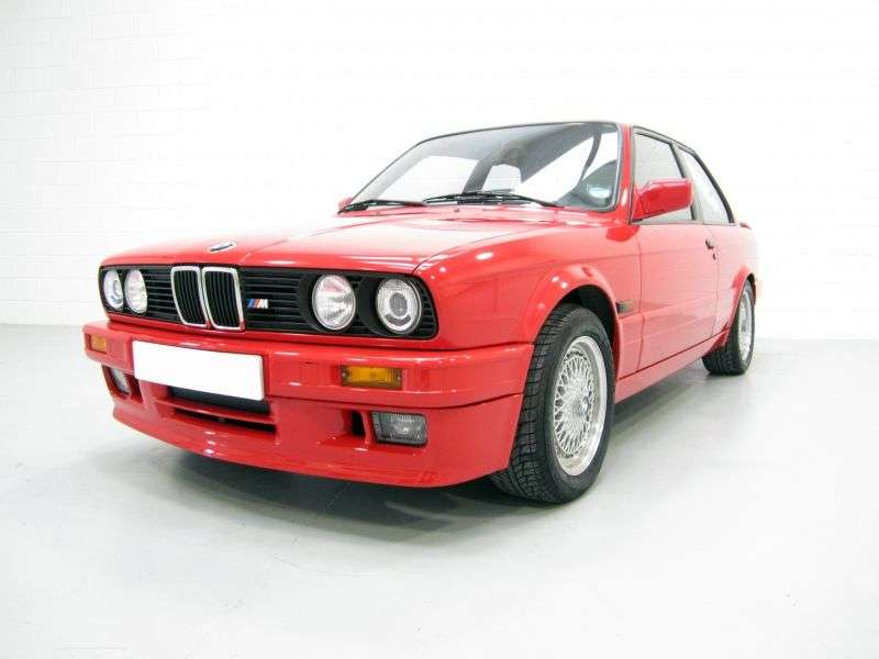 BMW 3 Series E30 [restyling] 320i kat MT sedan (1987–1992)