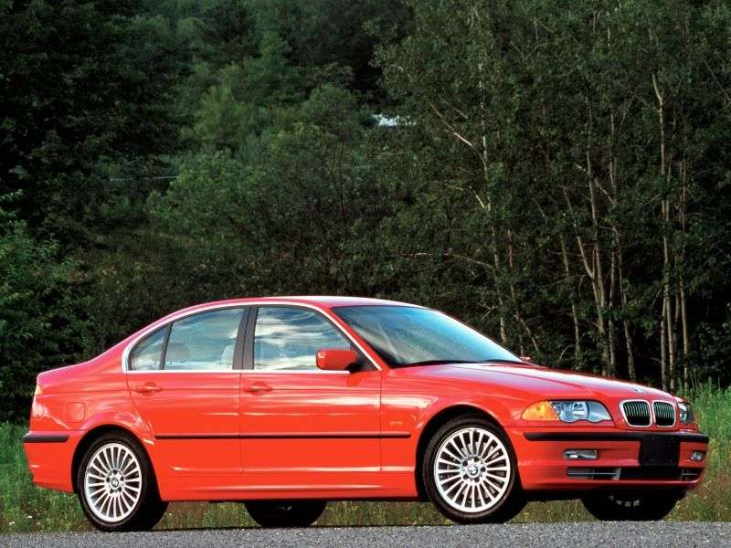 BMW 3 Series E46sedan 4 bit 330xi MT (2001–2001)