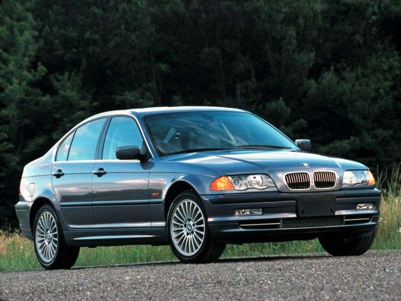 BMW 3 Series E46sedan 4 bit 330xi AT (2000–2001)