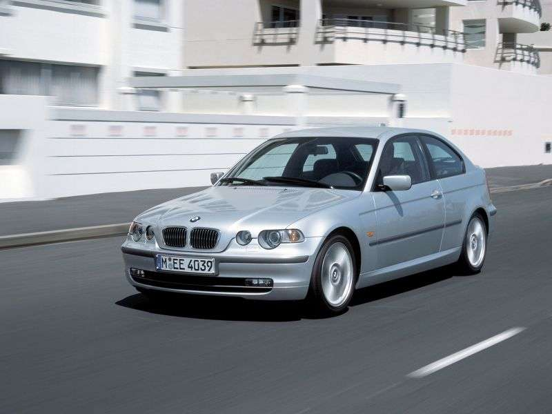 BMW 3 Series E46 [Restyling] Compact Hatchback 318ti MT (2003–2004)